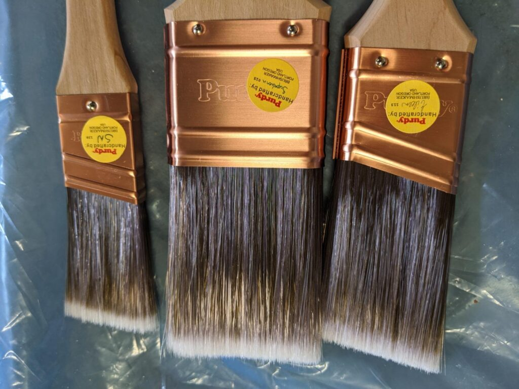the purdy brush is the best paint brush for trim because of the durability and the quality