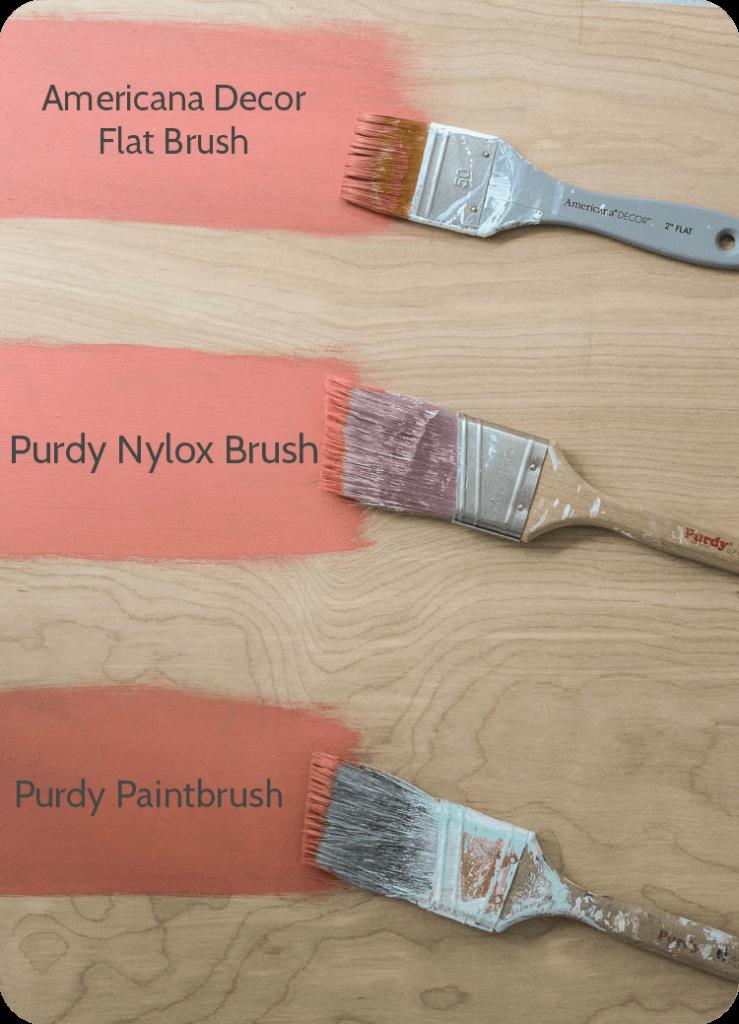 paintbrush finish comparison