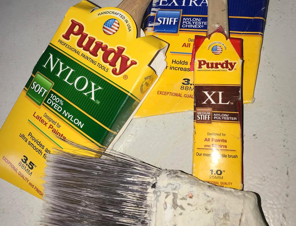 purdy trim brushes