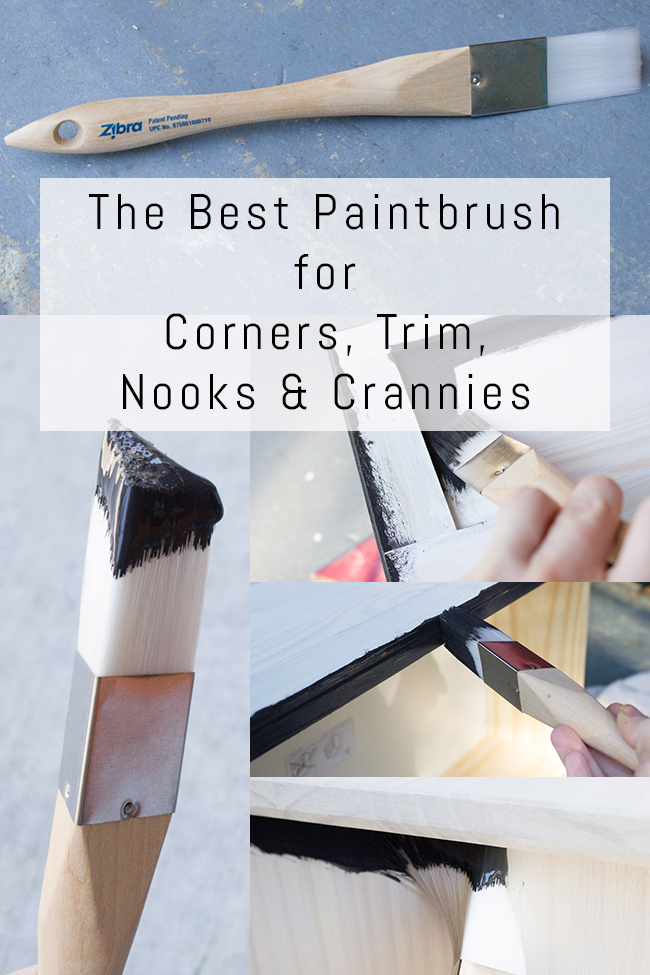 the best paintbrush for corners trim nooks and crannies