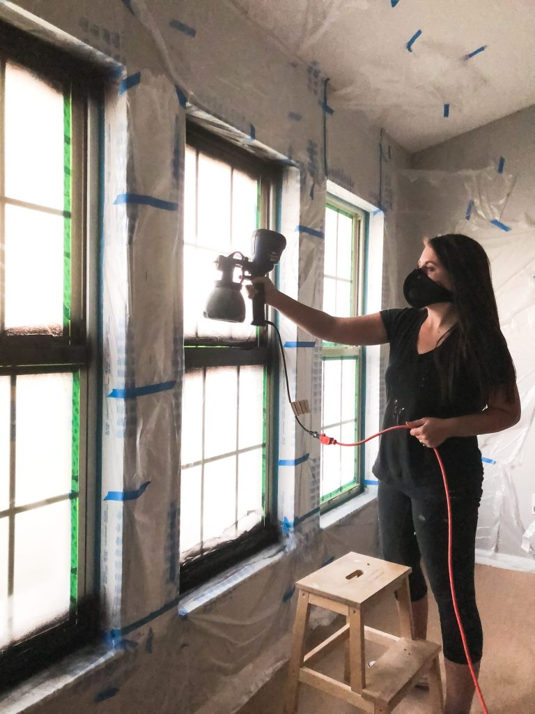 painting interior windows
