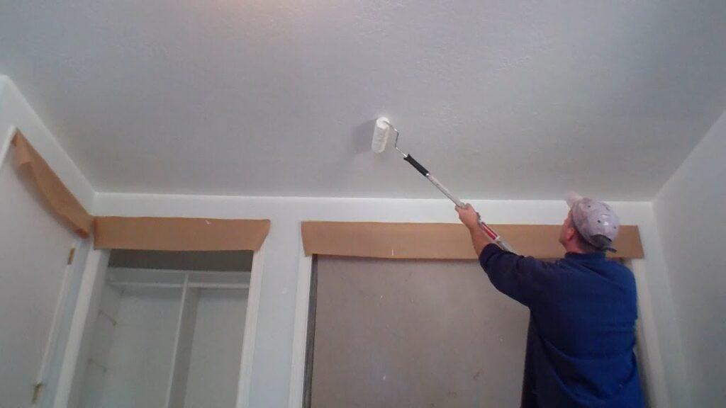 ceiling painting prep