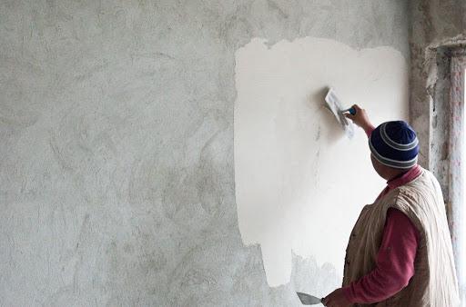painting plaster walls