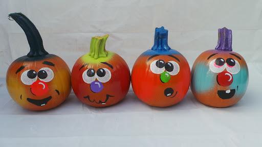 hand painted pumpkin ideas